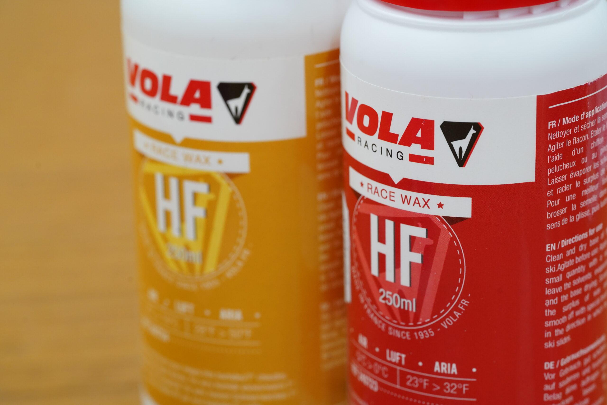 HF HIGH FLUOR ハイフッ素ワックス VOLA